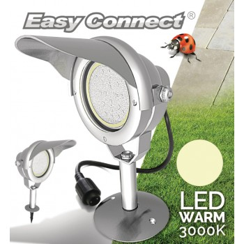 Easy Connect EC65370 Led Tuinlamp Met Spies 10 W 3000 K