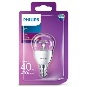 Philips 6W(40W) E14 WW P45 CL ND/4 LED Lamp