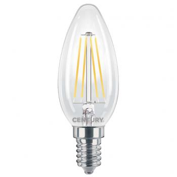 Century INM1-061427 Led Vintage Filament Lamp Candle E14 6 W 806 Lm 2700 K